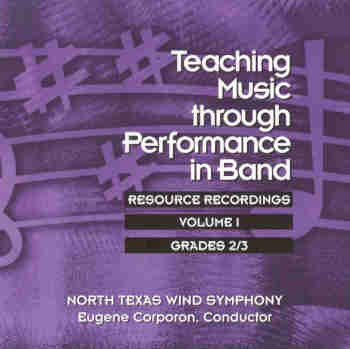 Teaching Music through Performance in Band #1 Grade 2 and 3 - click here