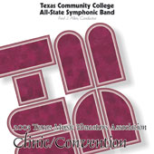 2003 Texas Music Educators Association: Texas Community College All-State Symphonic Band - hier klicken