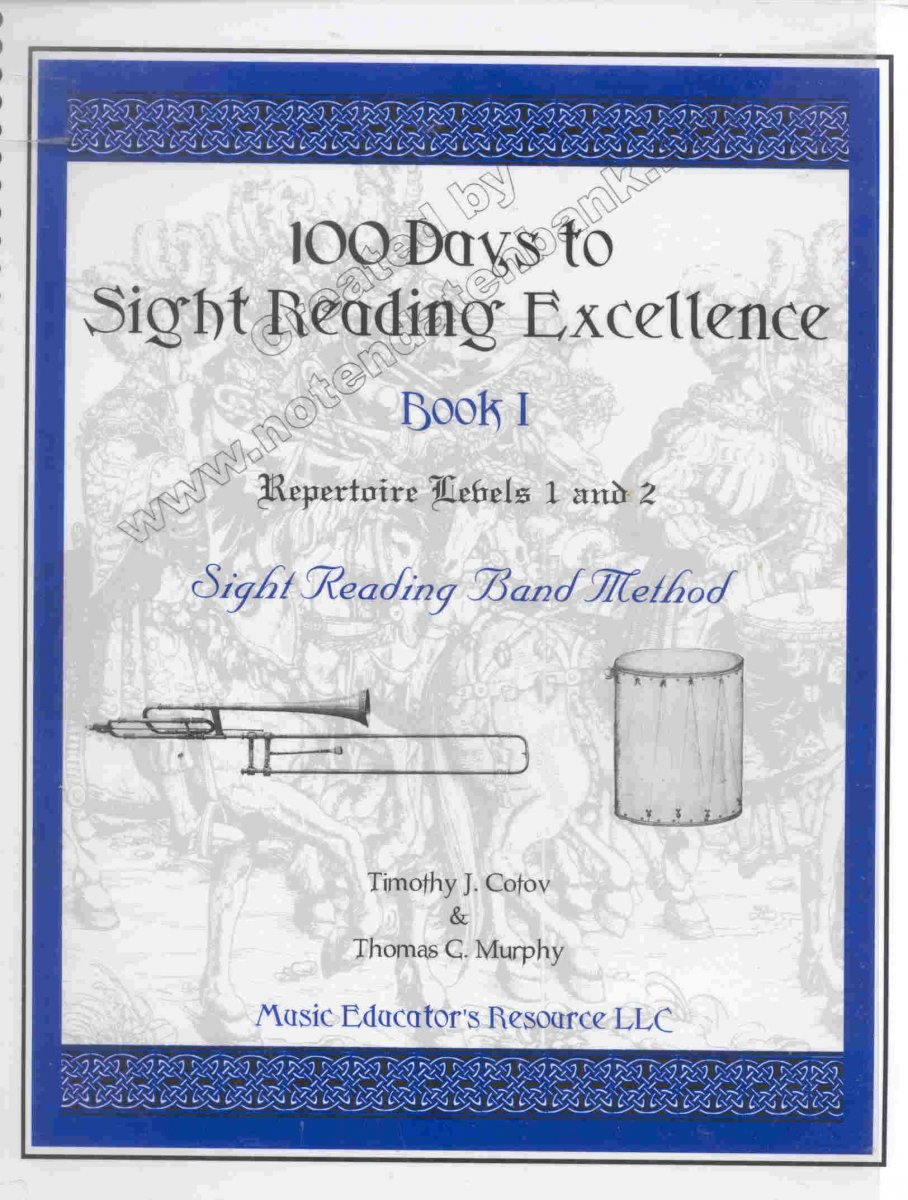 100 Days to Sight Reading Excellence #1 - hier klicken