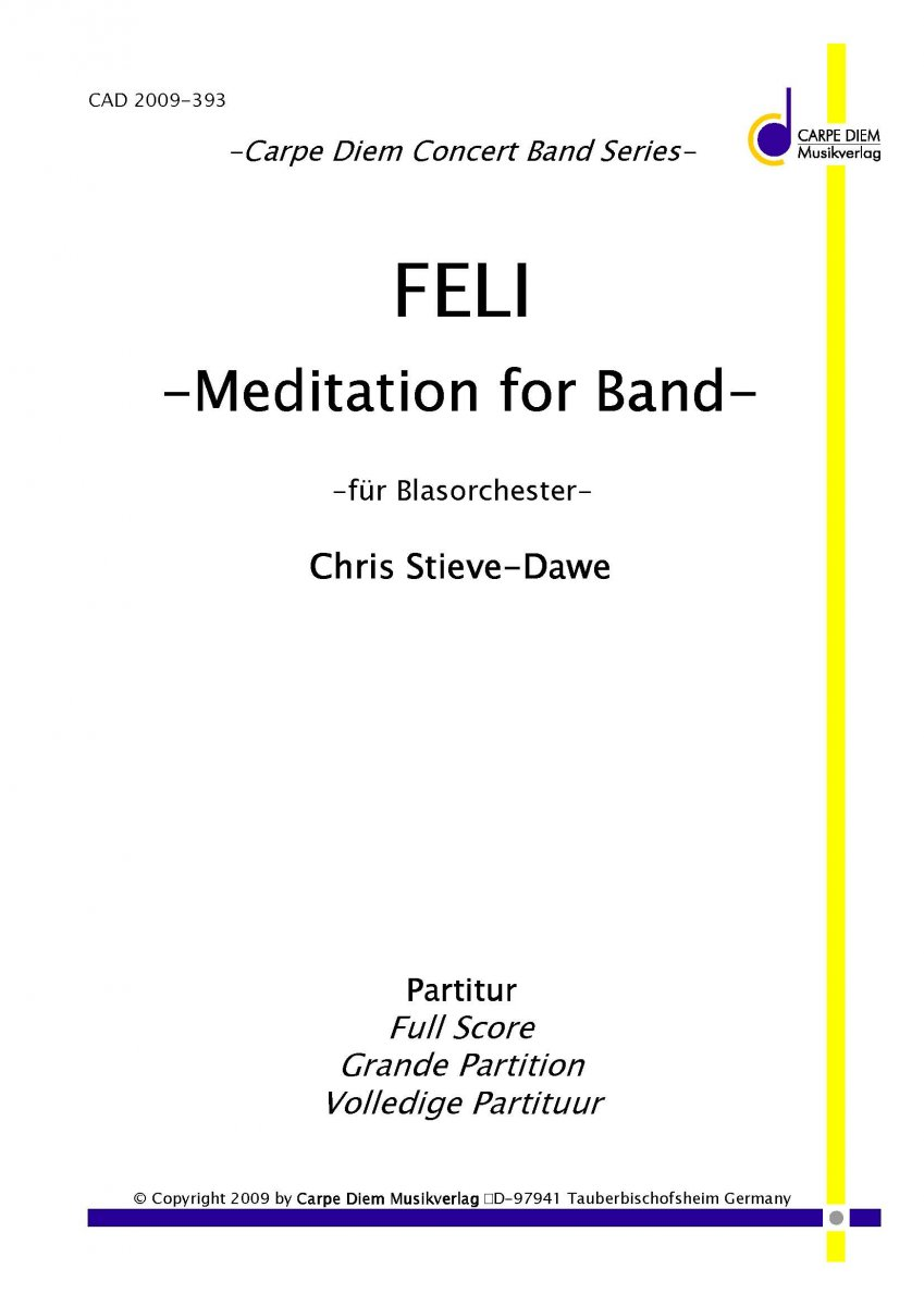 Feli - Meditation for Band - klicken f�r gr��eres Bild