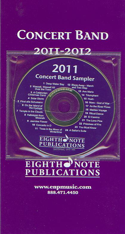 Eighth Note Publications 2011-2012 Concert Band - hacer clic para una imagen m�s grande