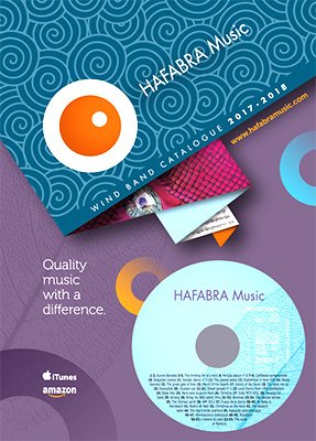 HAFABRA 2017-2018 Wind Band Catalogue - click for larger image