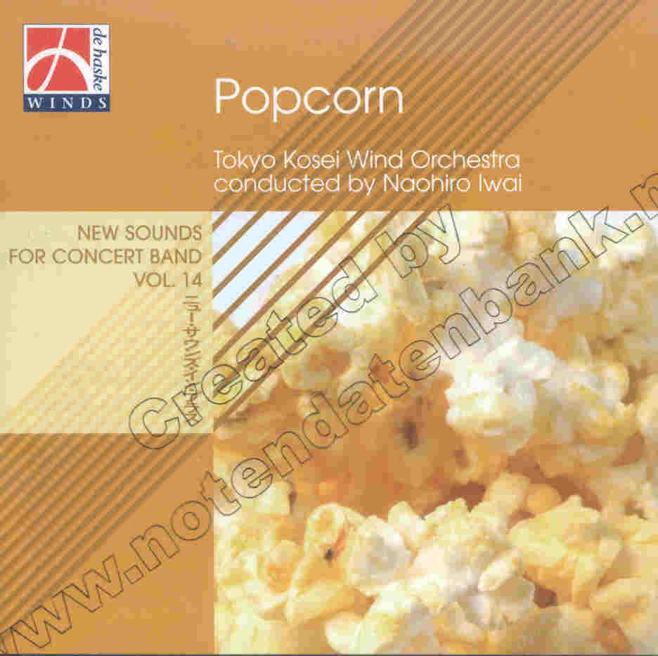 New Sounds for Concert Band #14: Popcorn - cliccare qui