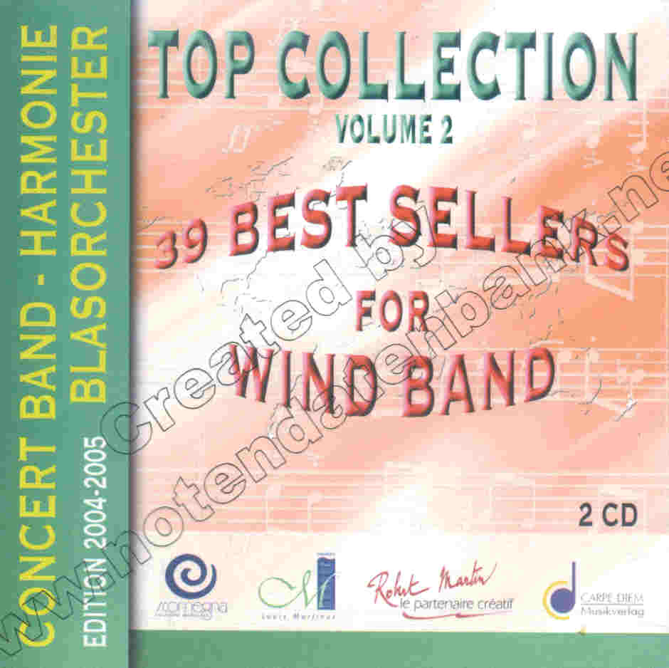 Top Collection #2: 39 Best Sellers for Wind Band - hier klicken