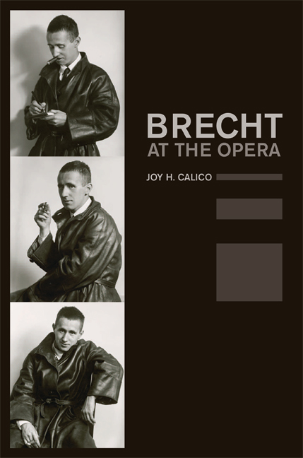 Brecht at the Opera - click for larger image