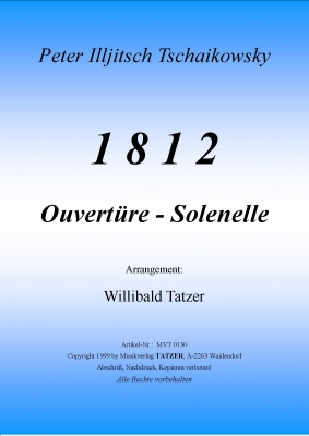 1812 Ouvert�re - Solenelle - hier klicken
