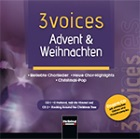 2016-11-26 CD 3 voices - Advent und Weihnachten - click here