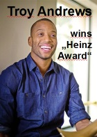 2016-09-09 Troy Andrews wins Heinz Award - click here