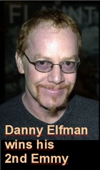 2016-09-24 Danny Elfman wins his 2nd Emmy - click here