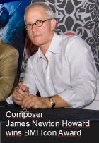 2016-04-16 Composer James Newton Howard wins BMI Icon Award - click here