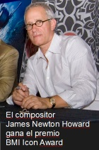 2016-04-18 El compositor James Newton Howard gana el premio BMI Icon Award - hacer clic aqu�