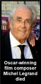 2016-03-16 Composer Michel Legrand receives honorary doctor degree from Western Michigan University - click here