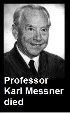 2016-01-05 Professor Karl Messner died - click here