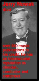 2016-01-04 American composer Jerry Nowak has died - click here