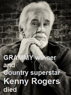 2020-03-26 Kenny Rogers died. - click here
