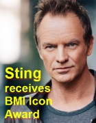 2016-09-16 Sting receives BMI Icon Award - click here