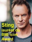 2016-09-19 Sting laur�at du BMI Icon Award - cliquer ici