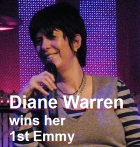 2016-09-24 Diane Warren wins her 1st Emmy - click here