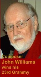 2017-02-14 Composer John Williams wins his 23rd Grammy - click here